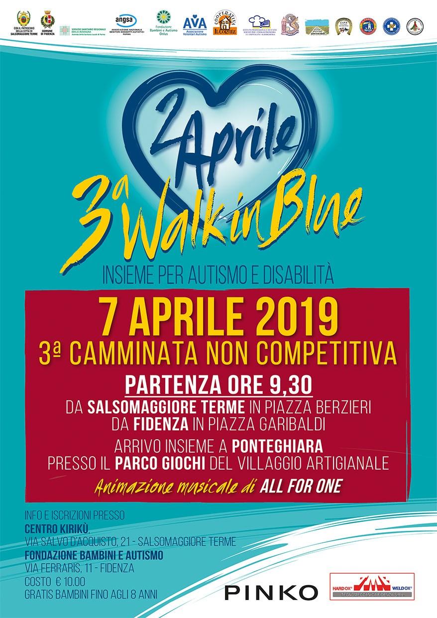 07 aprile – 3a Walk in Blue