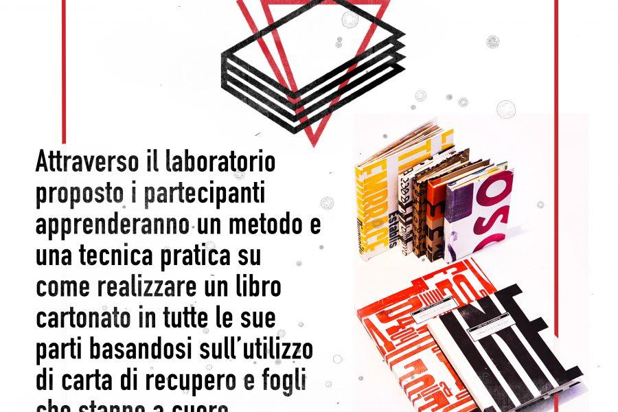 11 Maggio – Crea Workshop: Libri finti clandestini